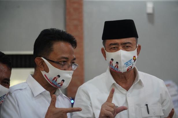 Nasrul Abit dan Indra Catri Calon Gubernur dan Wakil Gubernur Sumbar