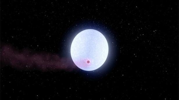 Planet dengan suhu terpanas yang dinamakan KELT-9B