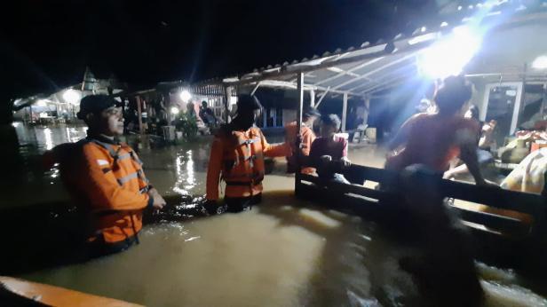 Banjir di kecamatan Batang Anai