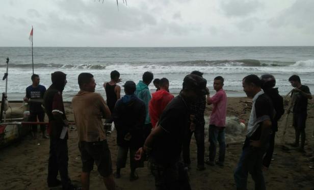 Pencarian nelayan di Sutera