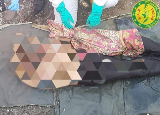 Evakuasi Mayat di TPI Padang Sarai