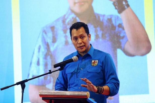 Ketua Umum KNPI, Noer Fajrieansyah.