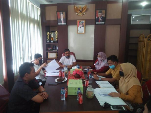 BPJS Kesehatan Cabang Bukittinggi gelar pertemuan koordinasi dengan stakeholder di ruang pertemuan Badan Pengelola Keuangan Daerah (BPKD) Kabupaten Pasaman Barat