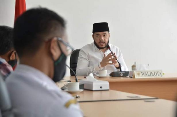 Rapat Internal Wako Fadly Amran, bersama Dinas Perdagkop-UKM Padang Panjang
