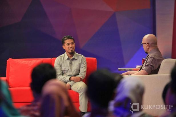 Ritno Kurniawan saat jadi pembicara di Kick Andy 'Yang Muda Berhati Mulia' pada tahun 2018 lalu di Jakarta