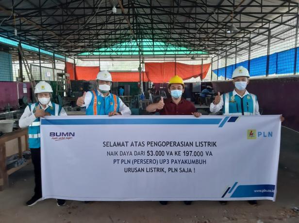 PLN Payakumbuh Dukung Bisnis Agriculture