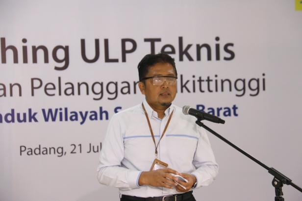 General Manager PLN UIW Sumbar, Bambang Dwiyanto