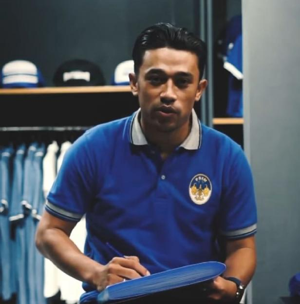 Beny Wahyudi, salah seorang pemain anyar PSIM Yogyakarta jelang uji coba lawan PSCS Cilacap.