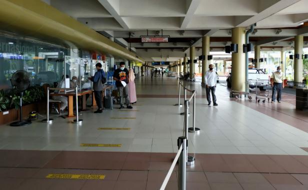 Suasana di Bandara Internasional Minangkabau