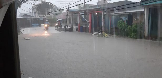 Banjir di Jondul Rawang, Kamis 9 Januari 2020