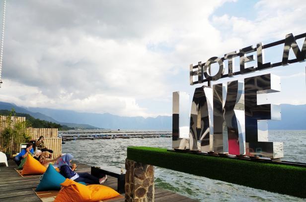 PALANTABO, Objek wisata baru di pinggir Danau Maninjau