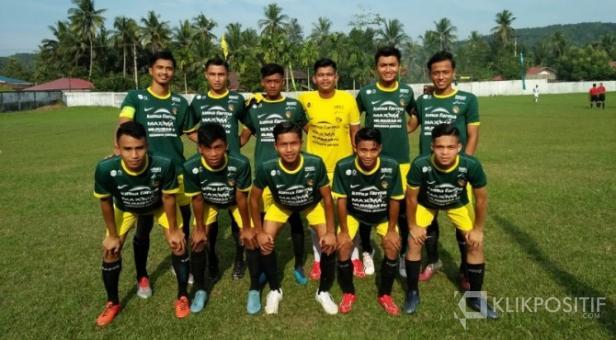 Tim Kecamatan Akabiluru, salah satu peserta Minangkabau Cup 2019