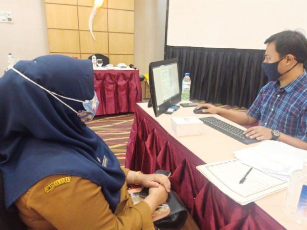 BPJS Kesehatan Cabang Bukittinggi menggelar rekonsiliasi data dengan mengundang masing- masing satuan kerja (Satker) dan perangkat daerah, Rabu (16/09).