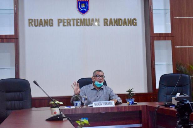 Wali Kota Payakumbuh Riza Falepi saat didapuk sebagai narasumber oleh BPK RI Perwakilan Sumbar, Selasa (4/8).