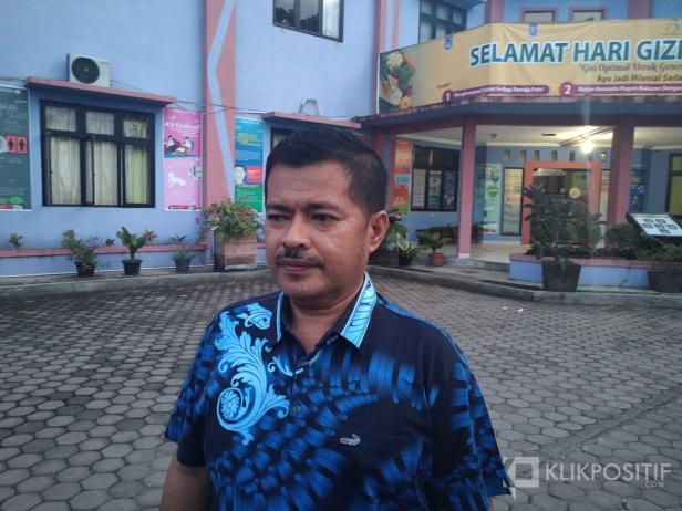 Kepala Dinas Kesehatan Kota Payakumbuh, Bakhrizal.