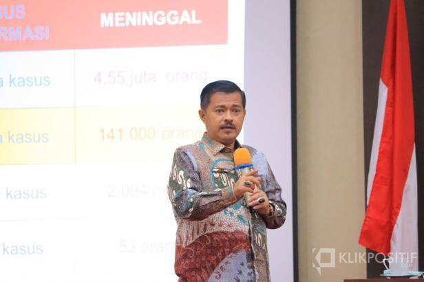 Kepala Dinas Kesehatan Payakumbuh dr. Bakhrizal