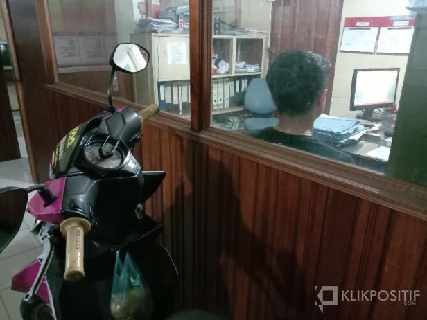 Pelaku Dimintai Keterangan di Polsek Kota