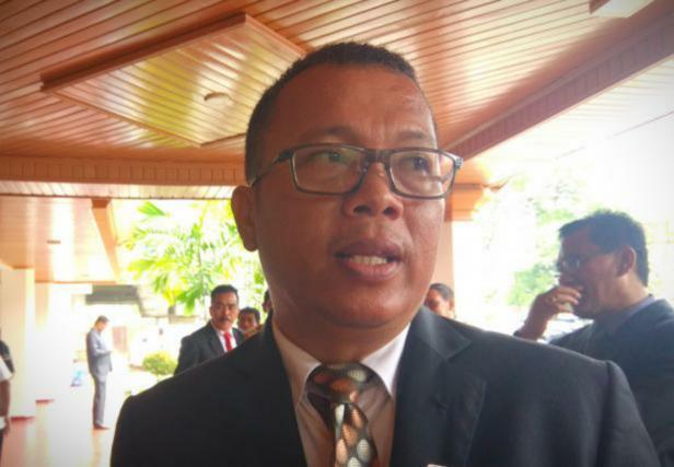 Kepala Biro Pemerintahan Provinsi Sumatera Barat Iqbal Ramadi Payana