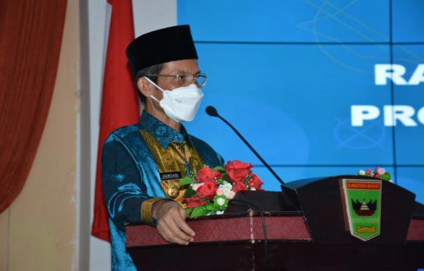 Pj Gubernur Sumbar Hamdani