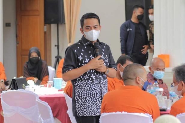 Wakil Wali Kota Solok, Ramadhani Kirana Putra disela silahturahmi Wagub Sumbar dan KBKS Padang