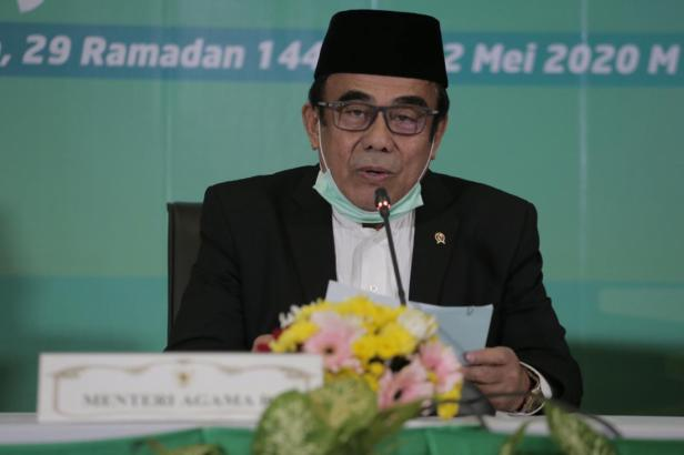 Menag Fachrul Razi umumkan 1 Syawal 1441H jatuh pada 24 Mei 2020