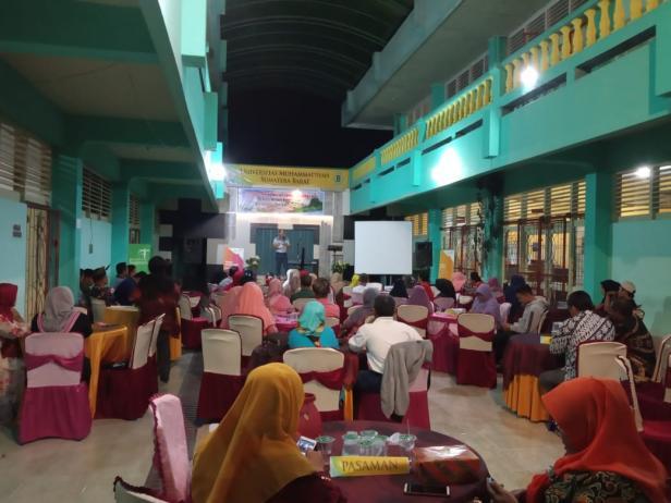 Silaturrahmi pemilik homestay se Sumatera Barat di Kampus UMSB Bukittinggi