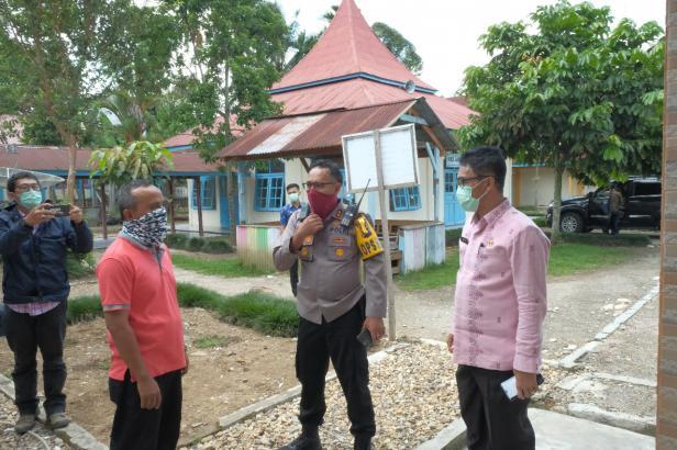 Sekda Kota Payakumbuh, Rida Ananda bersama Kapolres Payakumbuh, AKBP Dony Setiawan.