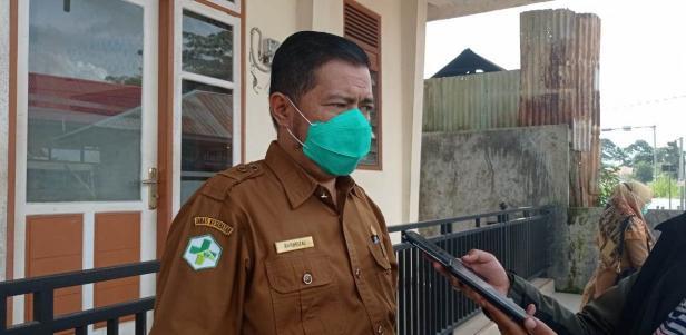 Kepala DKK Payakumbuh, Bakhrizal.