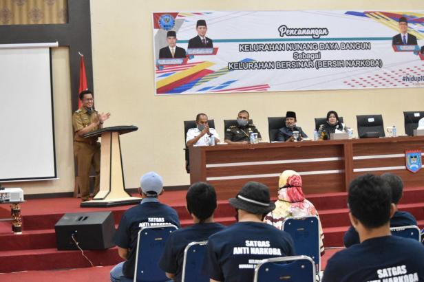 Deklarasi Kelurahan NDB sebagai Kelurahan Bersinar.