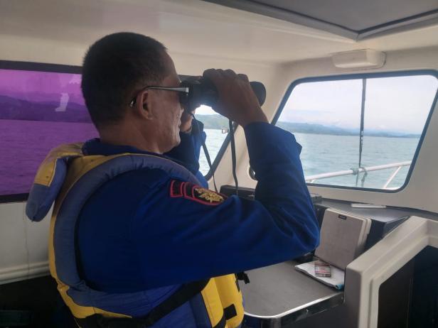 Tim gabungan pencarian 11 nelayan asal Airhaji Pessel yang hilang di perairan setempat