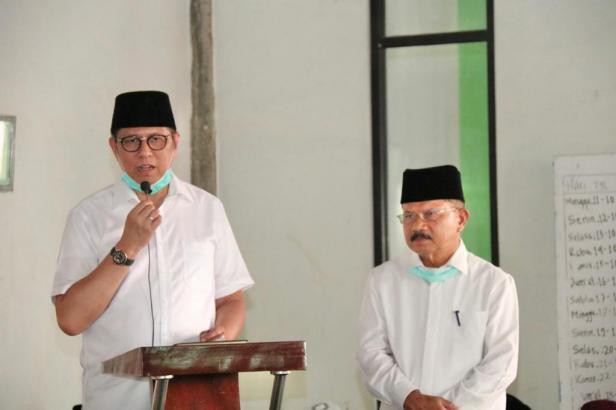 Pasangan calon Gubernur dan Wakil Gubernur Sumbar, Mulyadi-Ali Mukhni