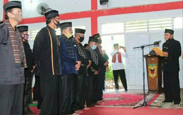 Pengukuhan Pengurus LKAAM Kecamatan Limo Kaum Tanah Datar
