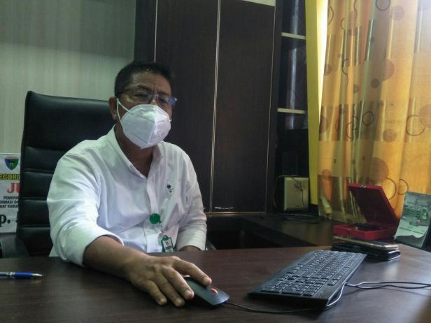 Direktur RSUD M. Zein Painan, dr. Sutarman