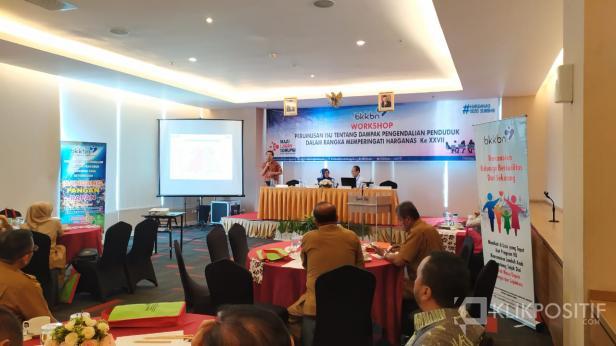 Kegiatan Workshop Perumusan Isu Tentang Dampak Pengendalian Penduduk dalam Rangka Memperingati Harganas ke-XXVII di Padang, Senin, 02 Maret 2020.