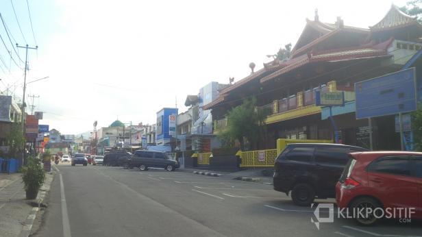 Kawasan Kampung Cina Yang Sepi