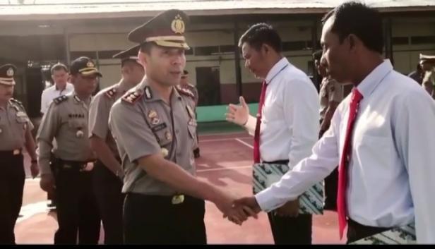 AKBP Imran Amir saat Menjabat Kapolres Dharmasraya