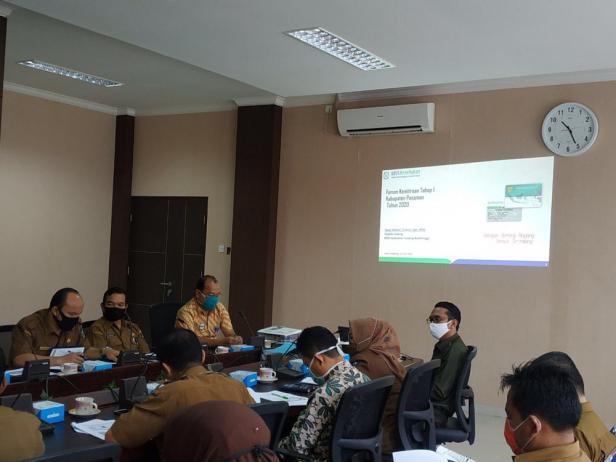 Forum Kemitraan dengan Pemangku Kepentingan di Kabupaten Pasaman diselenggarakan di ruang rapat Kantor Bupati Pasaman, Selasa (16/06)