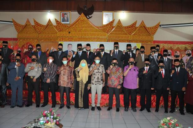 Pelantikan PKSP  dihadiri Gubernur Sumbar