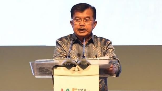 mantan wakil Presiden Jusuf Kalla (JK)