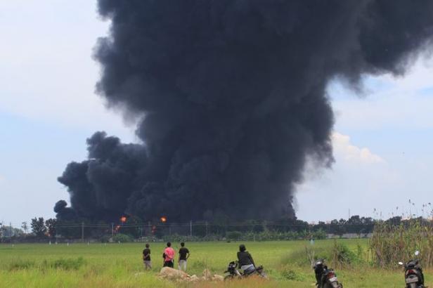 Kebakaran kilang Pertamina Balongan, Jawa Barat