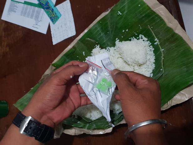 Narkoba Dalam Nasi Bungkus