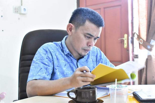 Ketua KPU Kabupaten Sijunjung Lindo Karsyah