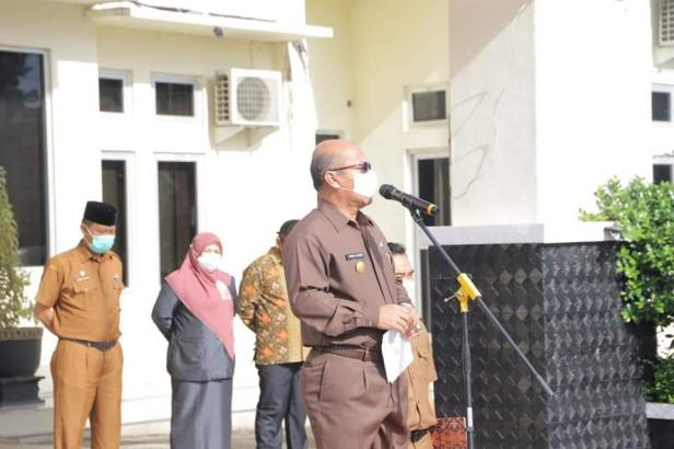 Pjs. Wako Solok, Asben Hendri Ingatkan ASN harus netral di Pilkada Kota Solok 2020