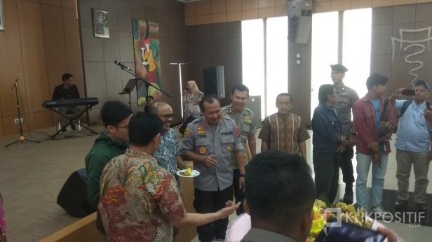 Kapolda Sumbar Irjen Pol Toni Harmanto saat Acara Silaturahmi dan Kemitraan Dengan Media Cetak/Elektronik, Kamis (20/2/2020)