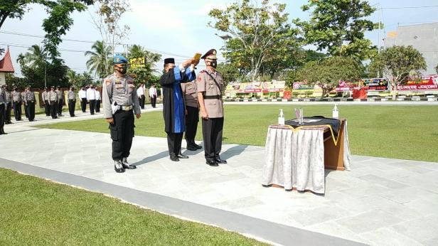 Kompol Russirwan dilantik sebagai Wakapolres Lima Puluh Kota.