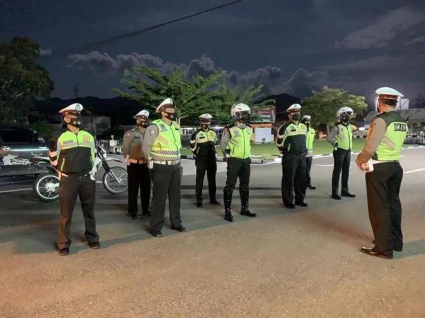 Operasi Cipta Kondisi Polres Sijunjung