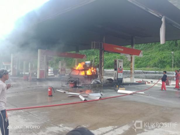 Peristiwa Kebakaran di SPBU Muaro Bodi, Kabupaten Sijunjung