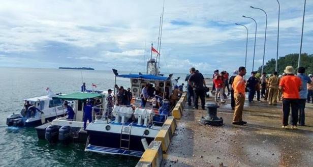 Pelabuhan Teluk Tapang Air Bangis, Pasaman Barat