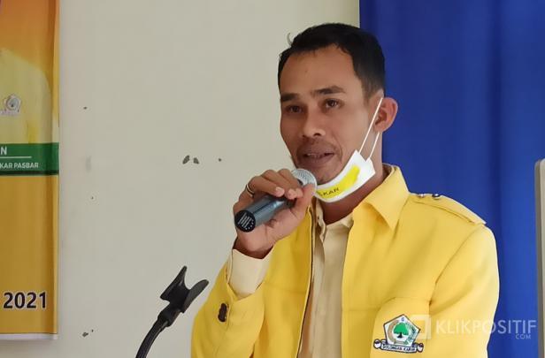 Ketua Terpilih DPD Tingkat II Pasaman Barat Partai Golkar, Dirwansyah