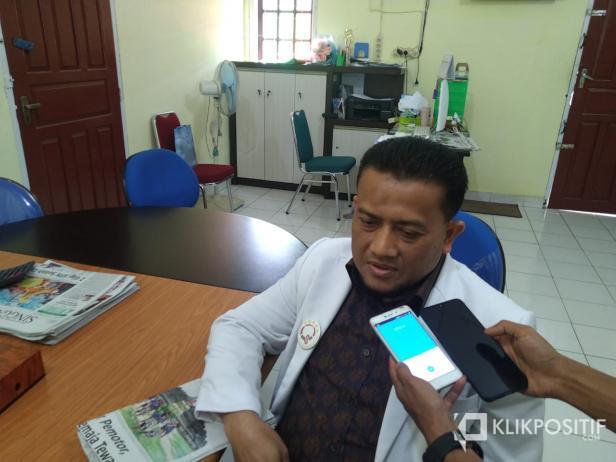 Dirut RSUD Adnaan WD Payakumbuh, dr. Efriza Naldi.